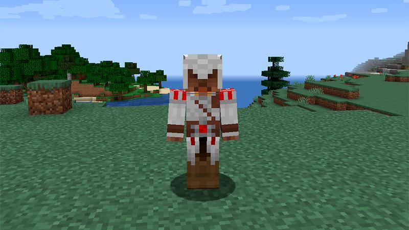 Portada Skin de Assassin's Creed en Minecraft