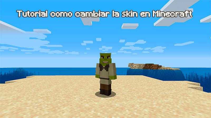 Nueva skin portada en Minecraft