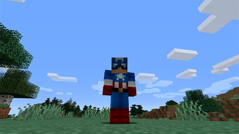 Portada de Skin Superhéroe en Minecraft