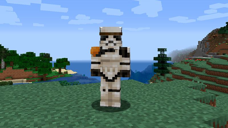 Portada skin Stormtrooper en Minecraft