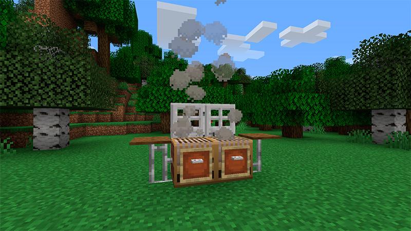 Parrilla en Minecraft