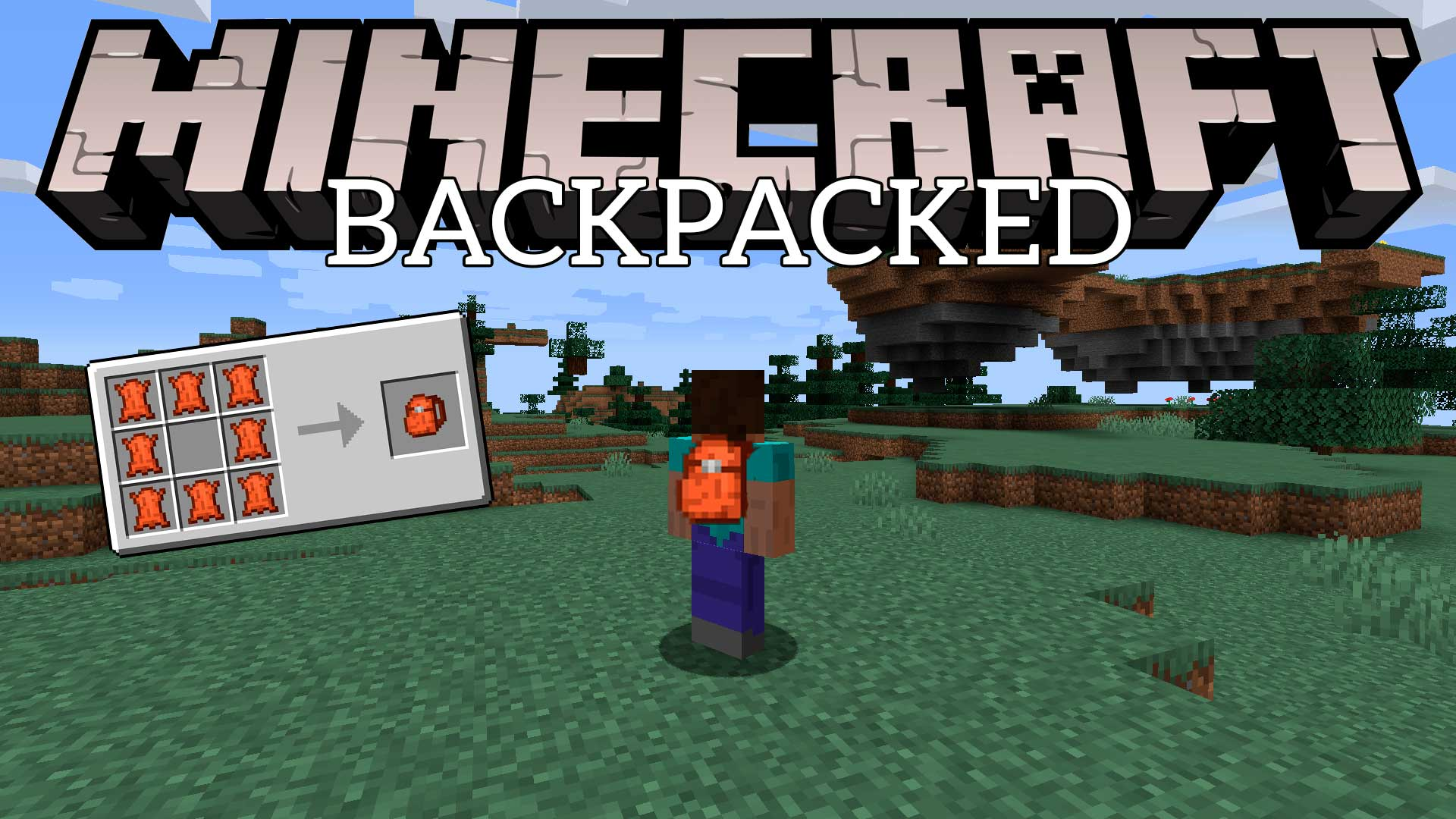 Mod Backpacked Minecraft