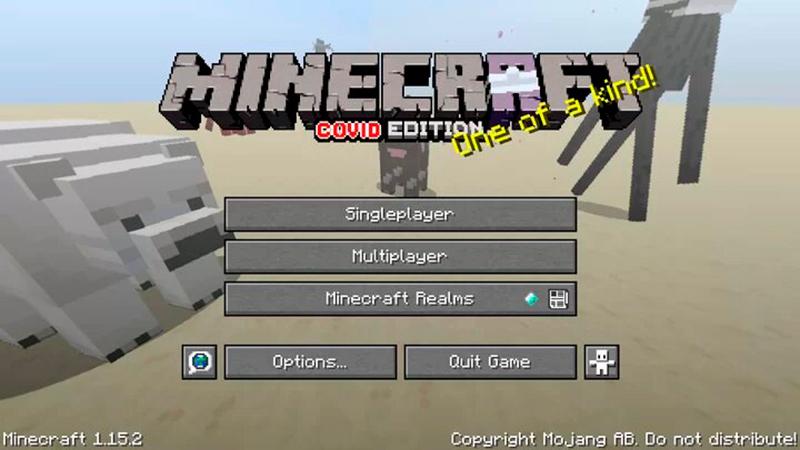 Pack Texturas Coronavirus para Minecraft