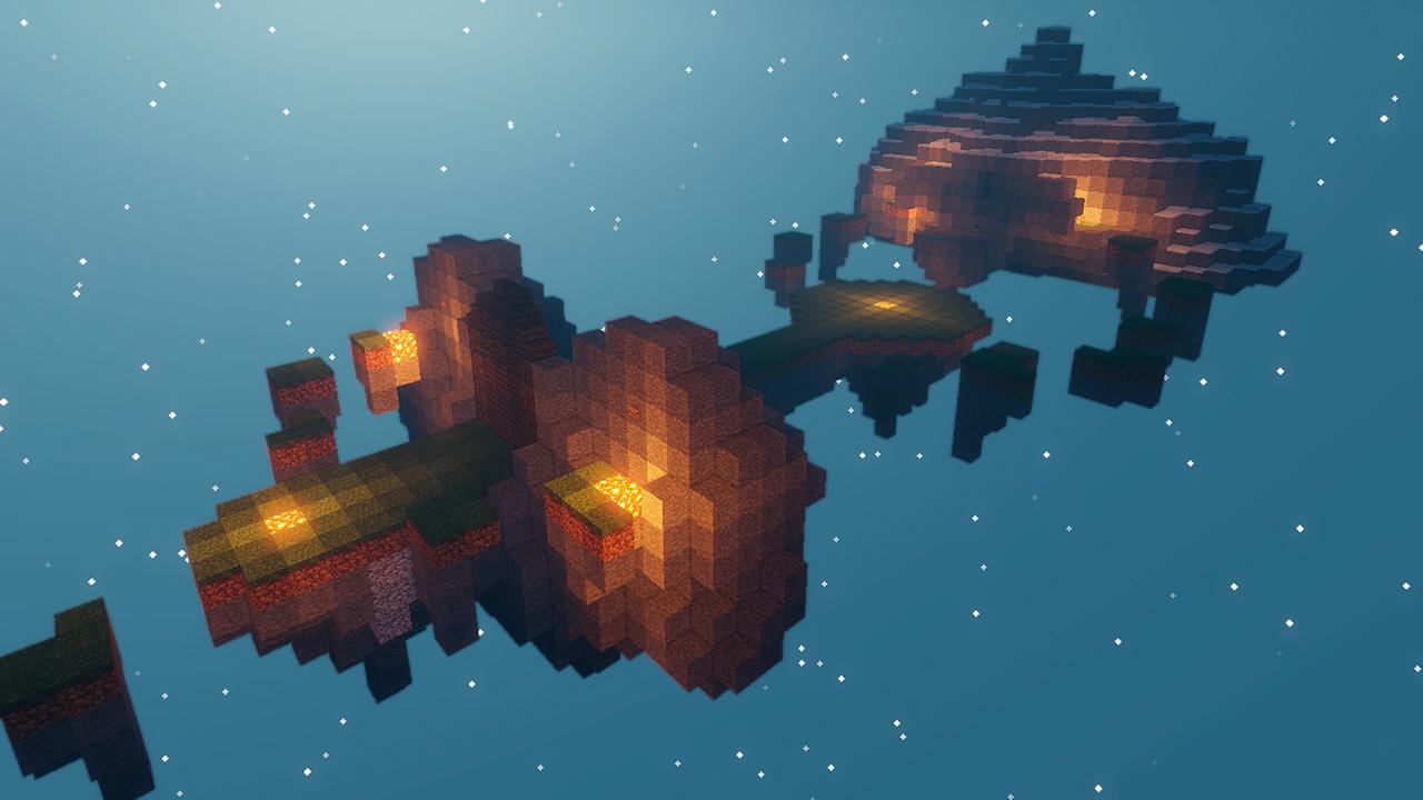 Mapa Astral Adventure en Minecraft