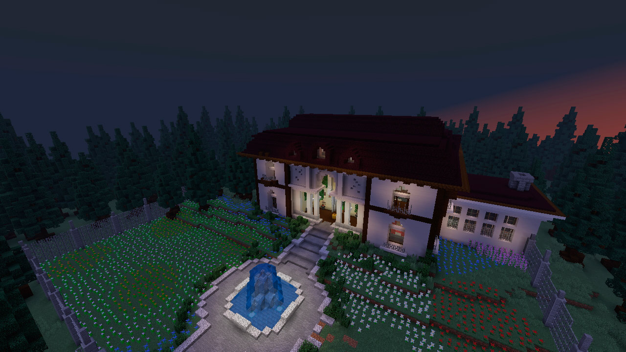 Mapa Escape the House en Minecraft