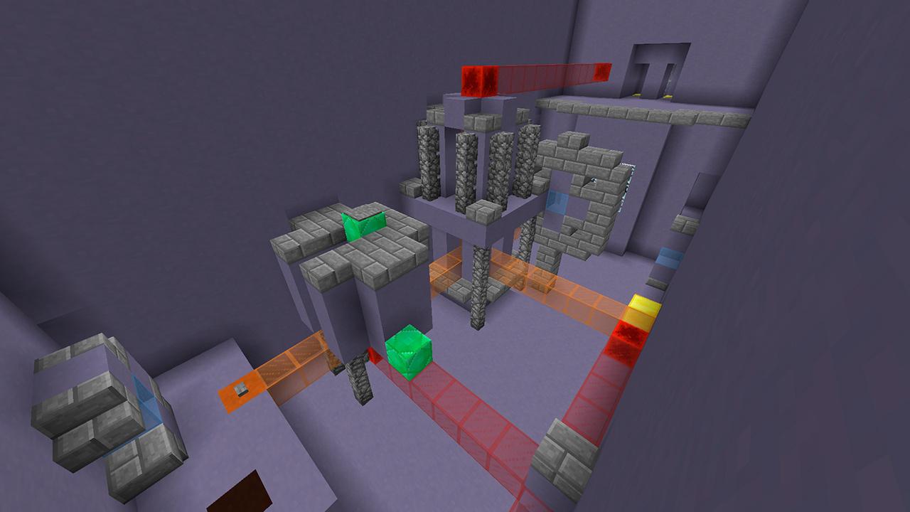 Mapa cooperativo Lazer Together en Minecraft