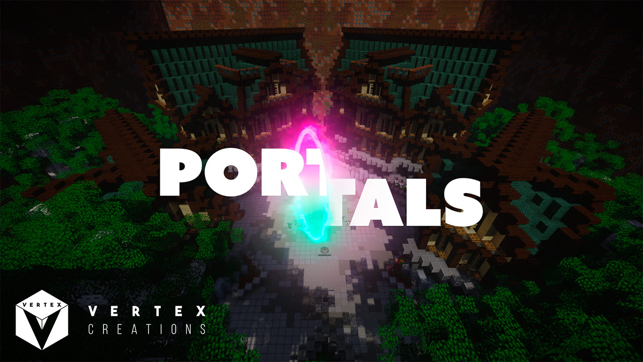 Mapa Portals en Minecraft