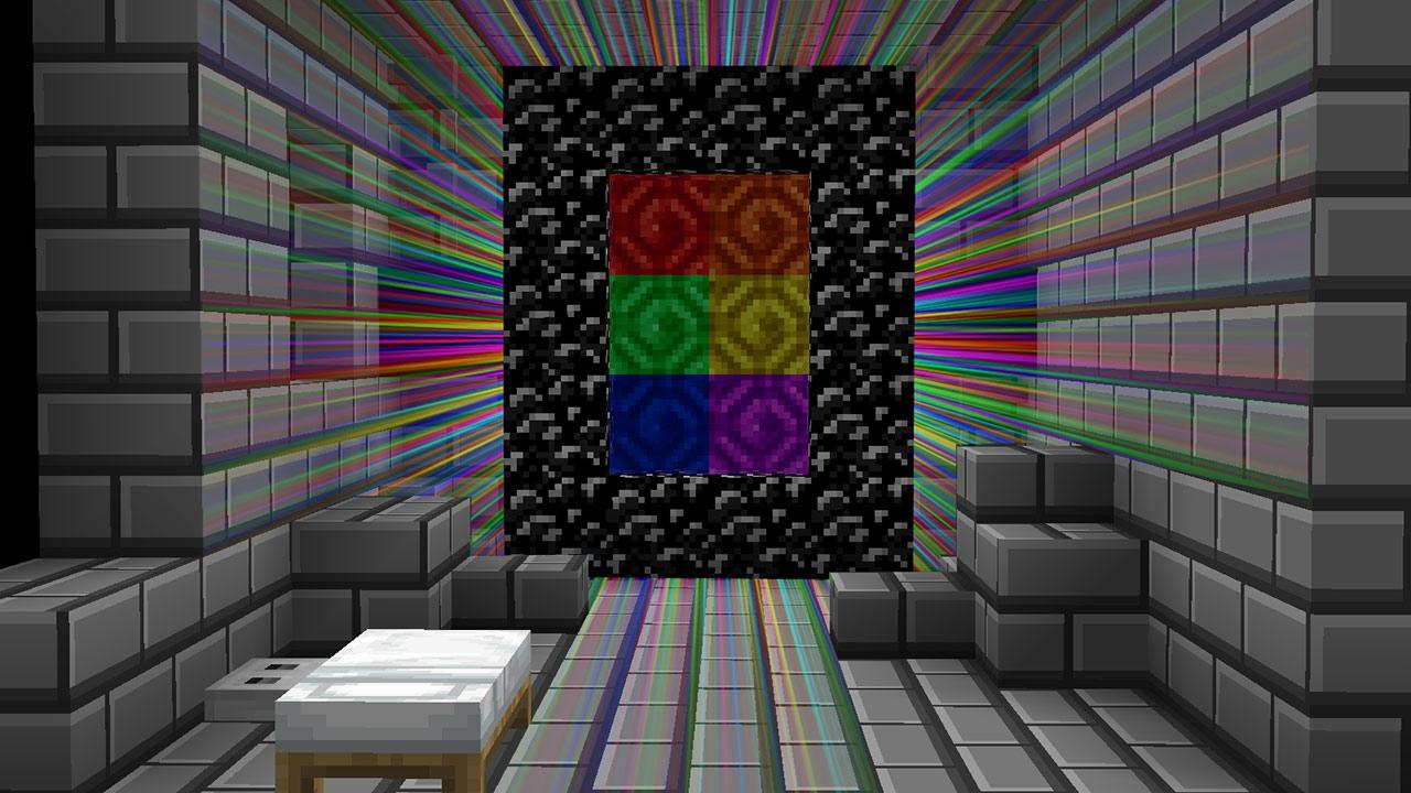 Mapa Rainbow Escape en Minecraft