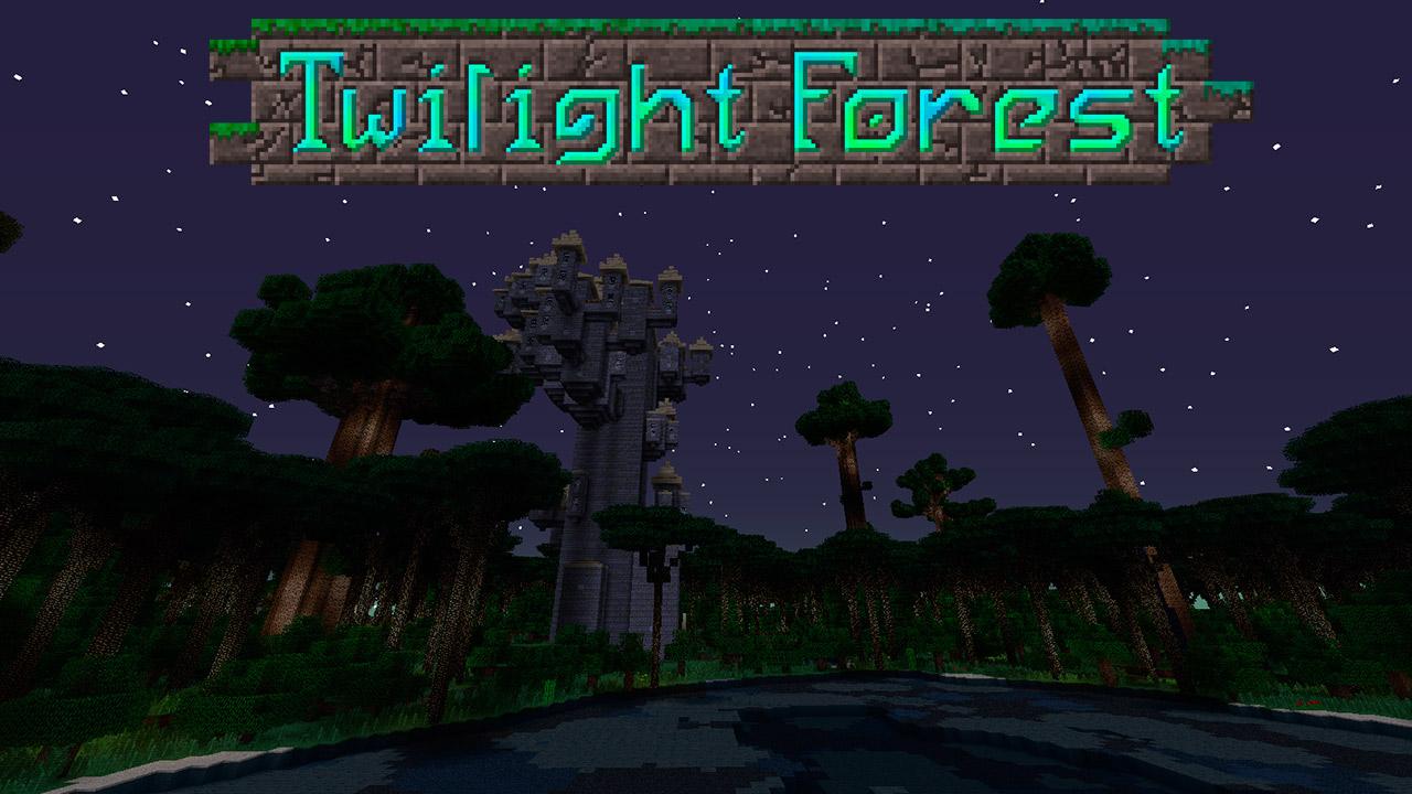 Mod Twilight Forest en Minecraft