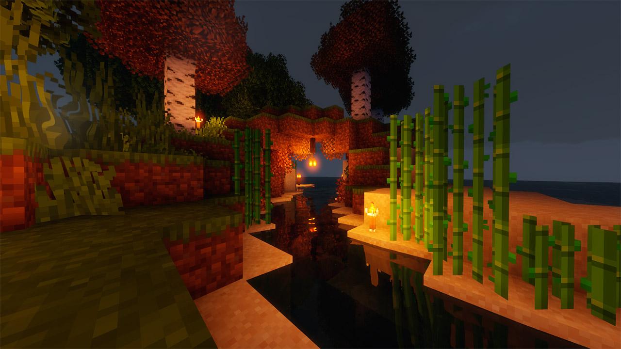Paquete recursos Mo's Vibrancy en Minecraft
