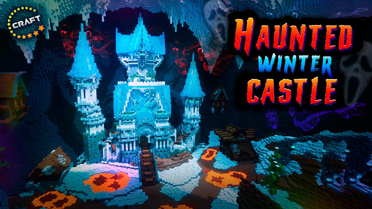 Mapa Haunted Winter Castle para Minecraft