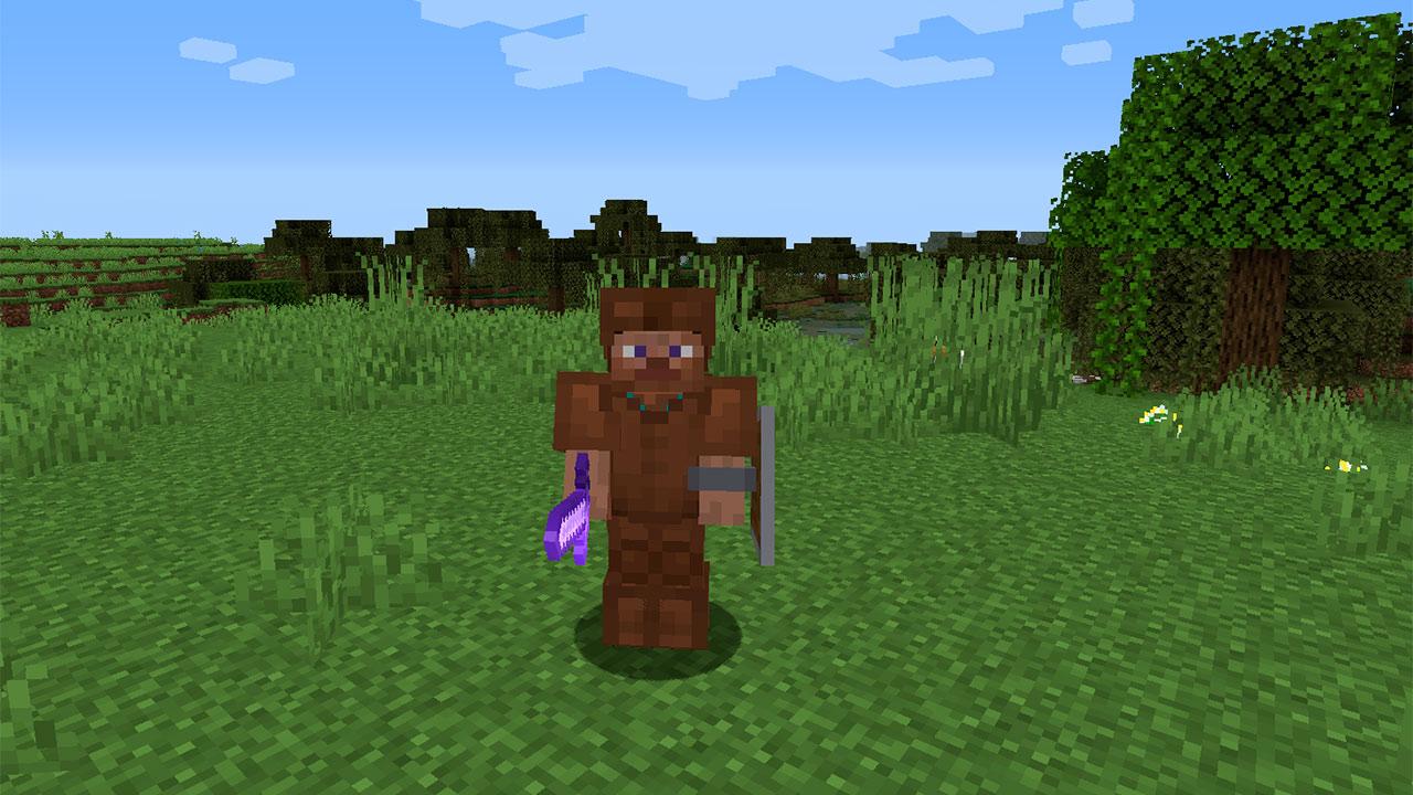 Armadura de Cuero en Minecraft