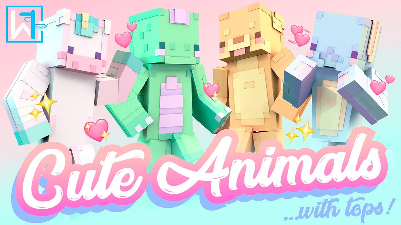 Skins Cute Animals en Minecraft