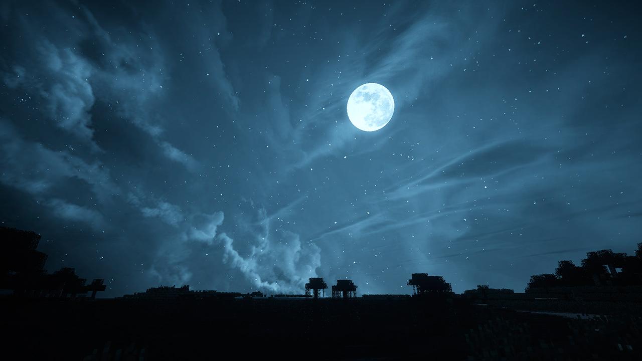 Paquete de recursos Dramatic Skys para Minecraft