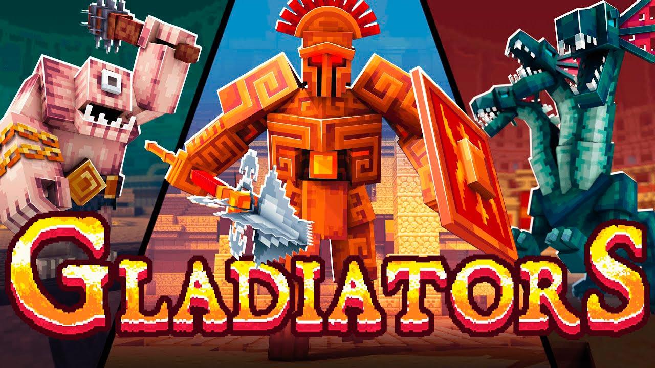 Mapa Gladiators en Minecraft