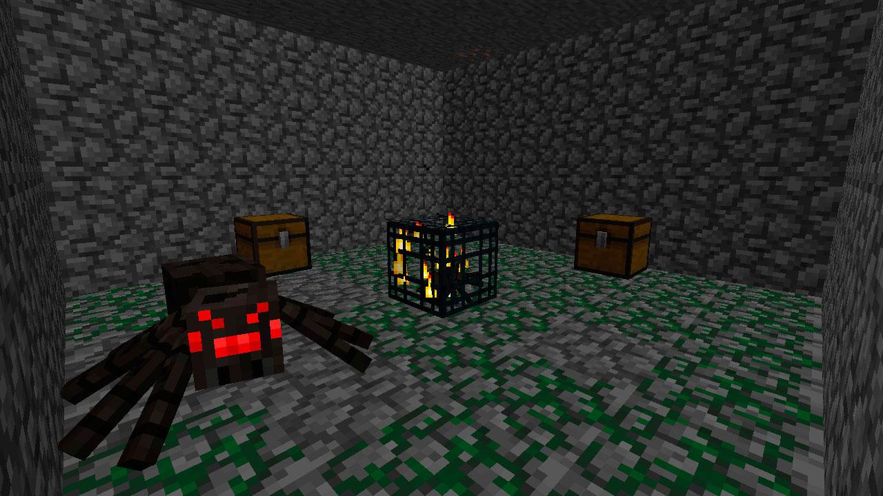 Mazmorras en Minecraft