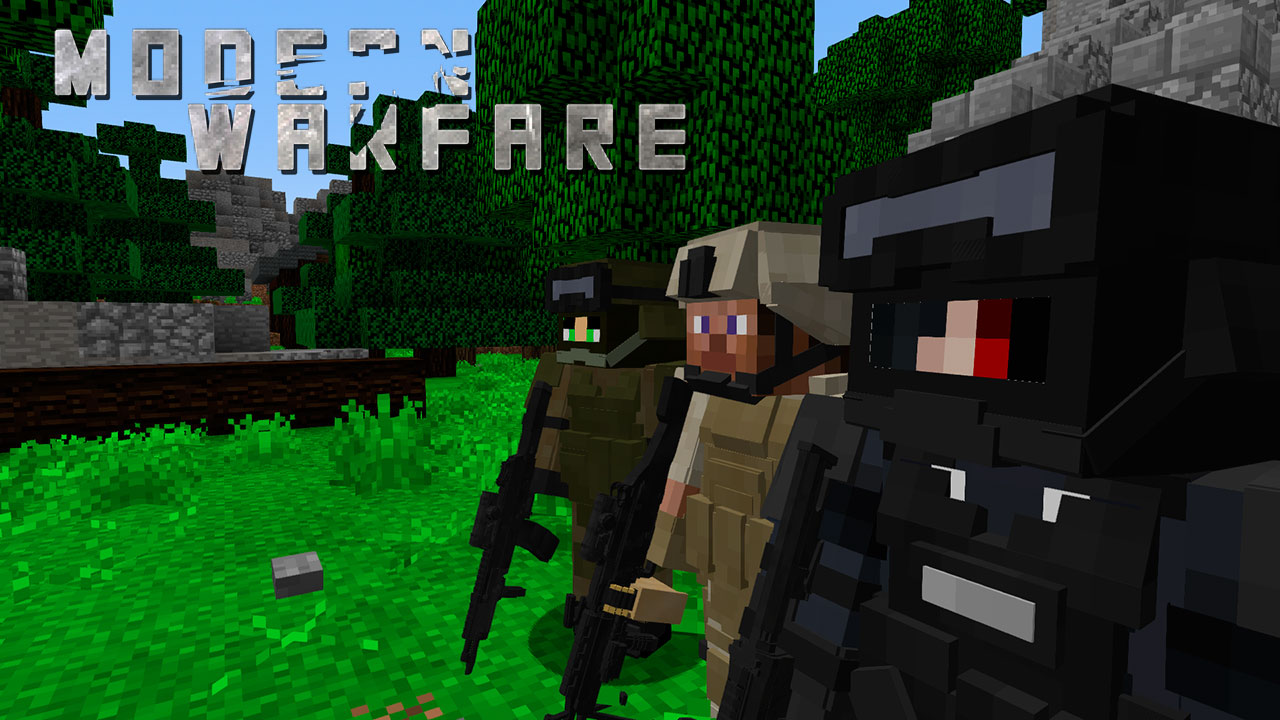 Mod Modern Warfare para Minecraft