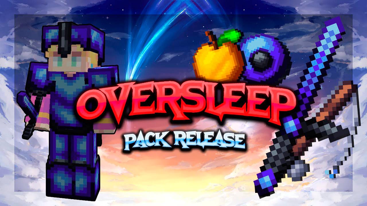 Paquete de recursos Oversleep PvP para Minecraft
