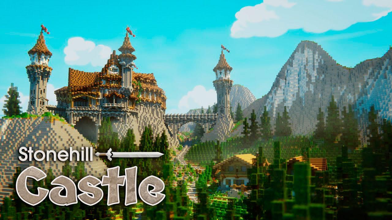 Mapa Stonehill Castle en Minecraft