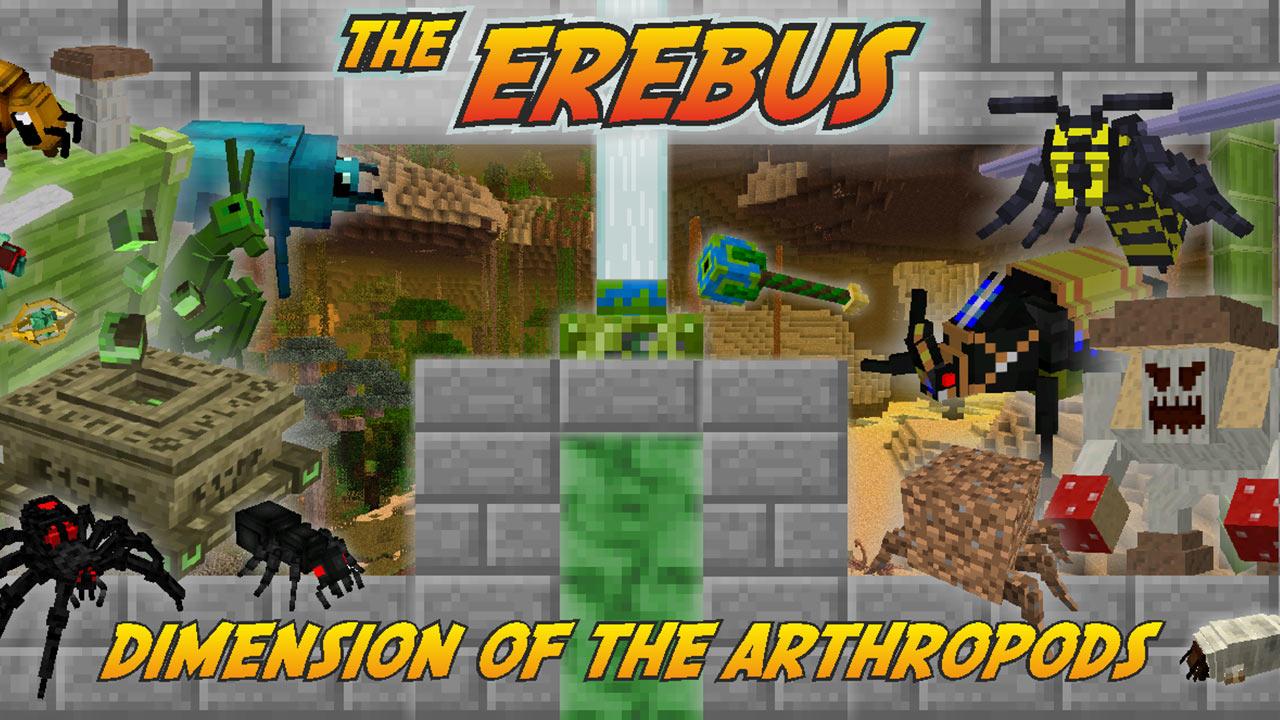 Mod The Erebus en Minecraft