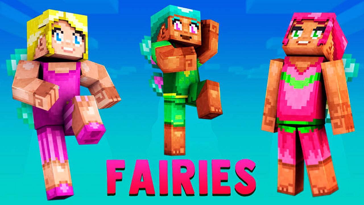 Paquete de skins Fairies en Minecraft